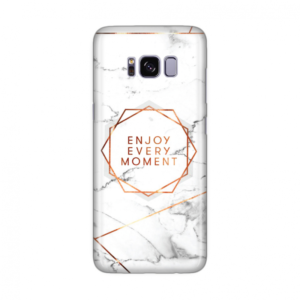 Maska silikonska Print za Samsung G950 S8 Enjoy Every Moment Marble