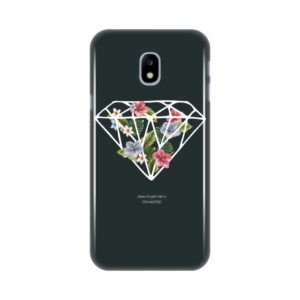 Maska silikonska Print za Samsung J330F Galaxy J3 2017 (EU) Diamond With Flowers