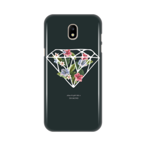 Maska silikonska Print za Samsung J530F Galaxy J5 2017 (EU) Diamond With Flowers