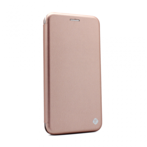 Maska Teracell Flip Cover za Motorola Moto E7 roze