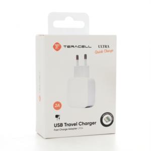 Kucni punjac Teracell Ultra Fast LP04 QC 2A sa iPhone lightning kablom