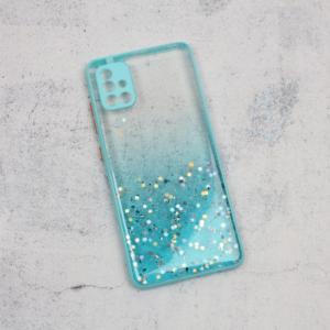 Maska Frame Glitter za Samsung A515F Galaxy A51 mint