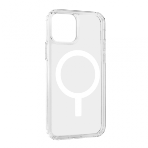 Maska Magnetic Connection za iPhone 12 /12 Pro 6.1 transparent