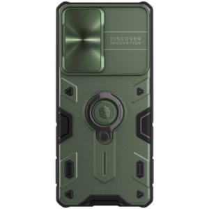 Maska Nillkin CamShield Armor za Samsung G998B Galaxy S21 Ultra zelena