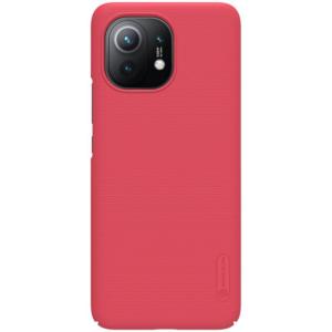 Maska Nillkin Scrub za Xiaomi Mi 11 crvena