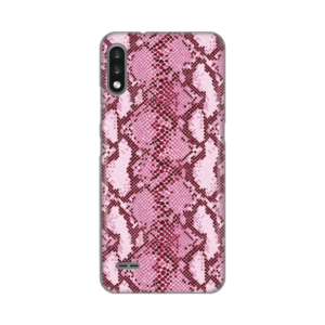Maska Silikonska Print za LG K22 Pink Snake