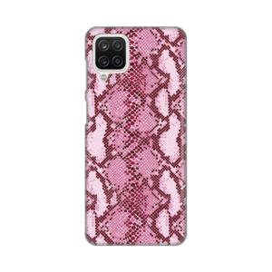 Maska Silikonska Print za Samsung A125F Galaxy A12 Pink Snake