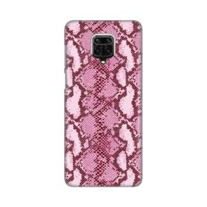 Maska Silikonska Print za Xiaomi Redmi Note 9 Pro/Note 9 Pro Max/Note 9S Pink Snake