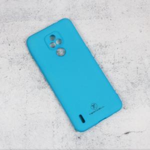 Maska Teracell Giulietta za Motorola Moto E7 mat svetlo plava