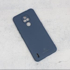 Maska Teracell Giulietta za Motorola Moto E7 mat tamno plava