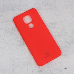 Maska Teracell Giulietta za Motorola Moto E7 Plus mat crvena
