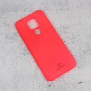 Maska Teracell Giulietta za Motorola Moto E7 Plus mat pink