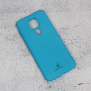 Maska Teracell Giulietta za Motorola Moto E7 Plus mat svetlo plava