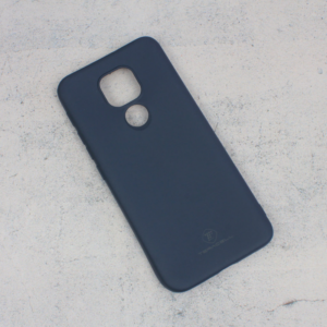Maska Teracell Giulietta za Motorola Moto E7 Plus mat tamno plava