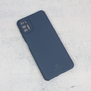 Maska Teracell Giulietta za Motorola Moto G9 Plus mat tamno plava
