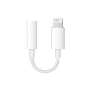 Adapter iPhone lightning na 3.5mm HQ za slusalice beli