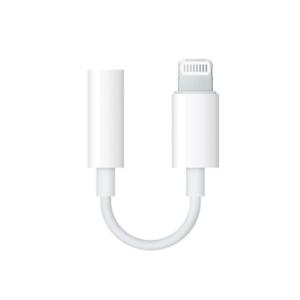 Adapter iPhone lightning na 3.5mm za slusalice beli