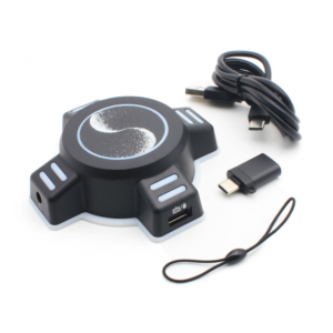 Game HUB adapter za USB mis i tastaturu crni