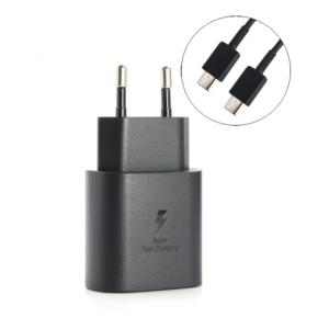 Kucni punjac PD Fast charger 25W 3A za Samsung crni HQ