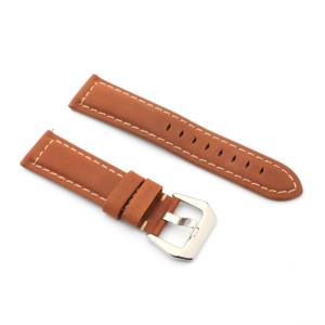 Narukvica elegant kozna za smart watch 22mm braon