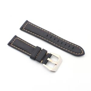 Narukvica elegant kozna za smart watch 22mm crna