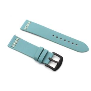 Narukvica thread kozna za smart watch 22mm svetlo zelena