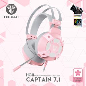 Slusalice Gaming Fantech HG11 Captain 7.1 Sakura