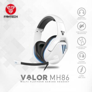 Slusalice Gaming Fantech MH86 Valor bele