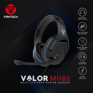 Slusalice Gaming Fantech MH86 Valor crne