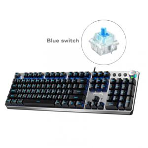 Tastatura Philips G405 mehanicka (Blue switch) siva