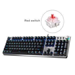 Tastatura Philips G405 mehanicka (Red switch) siva