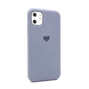 Maska Heart za iPhone 11 6.1 ljubicasta