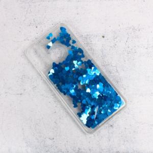 Maska Liquid Heart za Huawei P30 Lite plava