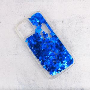 Maska Liquid Heart za iPhone 12 Pro Max 6.7 plava
