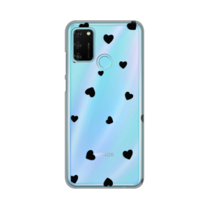 Maska Silikonska Print Skin za Huawei Honor 9A Hearts