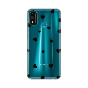Maska Silikonska Print Skin za Huawei Honor 9X Lite Hearts