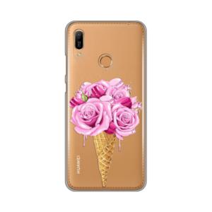 Maska Silikonska Print Skin za Huawei Y6 2019/Honor 8A Rose Cone