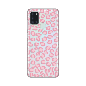 Maska Silikonska Print Skin za Samsung A217F Galaxy A21s Pink Cheetah