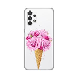Maska Silikonska Print Skin za Samsung A325F Galaxy A32 4G Rose Cone