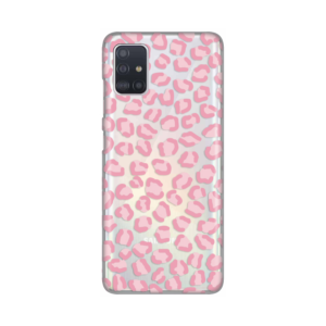 Maska Silikonska Print Skin za Samsung A515F Galaxy A51 Pink Cheetah