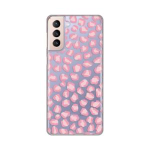 Maska Silikonska Print Skin za Samsung G996B Galaxy S21 Plus Pink Cheetah