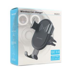 Wireless punjac BQ001 QC 3.0 crni