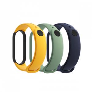 Xiaomi Mi Smart Band 5 narukvica (3 kom) zuta/svetlo zelena/plava