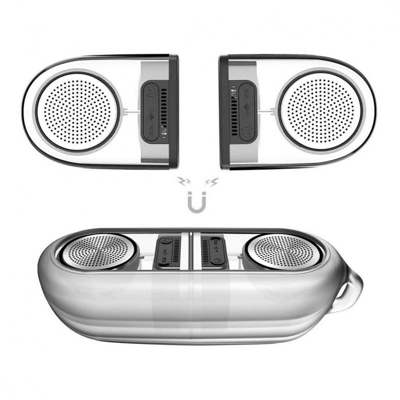 Bluetooth zvucnik Remax Magnetic RB-M22 beli