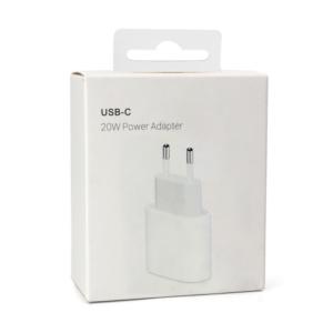 Kucni punjac PD Fast charger 20W 3A za iPhone 11/12 lightning beli HQ (bez kabla)