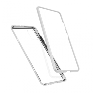 Maska Magnetic za Samsung A515F Galaxy A51 srebrna