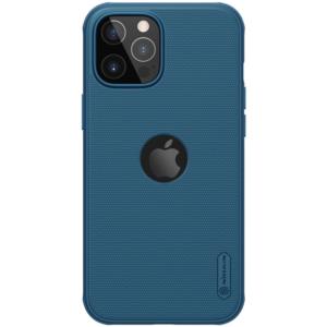 Maska Nillkin Scrub Pro za iPhone 12/12 Pro 6.1 plava (sa otvorom za logo)