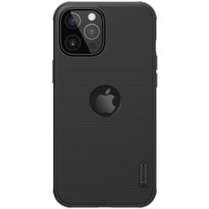 Maska Nillkin Scrub Pro za iPhone 12 Pro Max 6.7 crna (sa otvorom za logo)