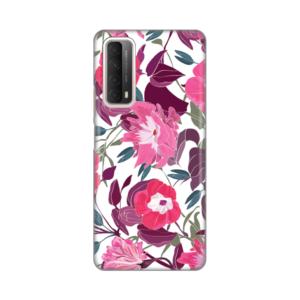 Maska Silikonska Print za Huawei P Smart 2021 Pink Flowers
