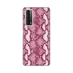 Maska Silikonska Print za Huawei P Smart 2021 Pink Snake